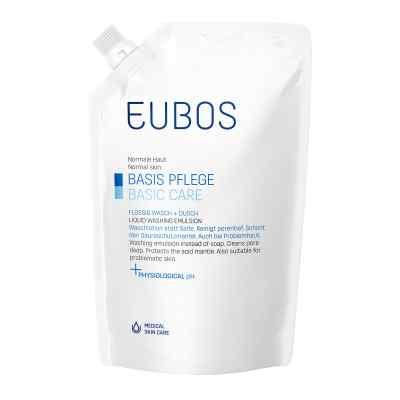 Eubos Flüssig blau Nachfüllpackung unparfüm.
