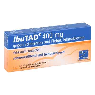 IbuTAD 400mg gegen Schmerzen und Fieber  bei apo-discounter.de bestellen