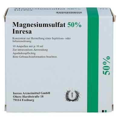 Magnesiumsulfat 50% Inresa Infusionslsg.-konz.  bei apo-discounter.de bestellen