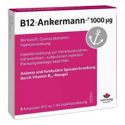 B12 Ankermann 1000 [my]g Ampullen  bei apo-discounter.de bestellen