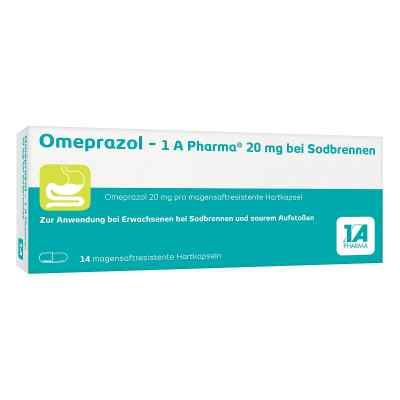 Omeprazol-1A Pharma 20mg bei Sodbrennen  bei apo-discounter.de bestellen