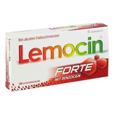 Lemocin Forte mit Benzocain