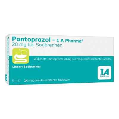 Pantoprazol-1A Pharma 20mg bei Sodbrennen  bei apo-discounter.de bestellen
