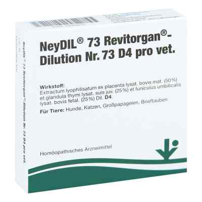 Neydil Nummer 7 3 Revitorgan Dilution d 4 pro veterinär Ampullen  bei apo-discounter.de bestellen