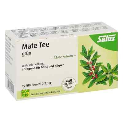 Mate Tee grün Kräutertee Mate folium bio Salus  bei apo-discounter.de bestellen