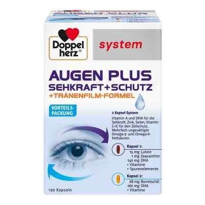 Doppelherz Augen plus Sehkraft+Schutz System Kaps.  bei bioapotheke.de bestellen