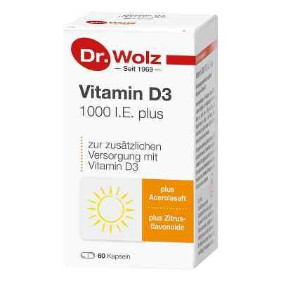Vitamin D3 1000 I.e. plus Doktor wolz Kapseln  bei apo-discounter.de bestellen
