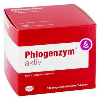 Phlogenzym aktiv magensaftresistente Tabletten  bei apo-discounter.de bestellen