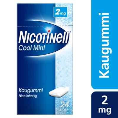 Nicotinell Kaugummi 2 mg Cool Mint (Minz-Geschmack)  bei apo-discounter.de bestellen
