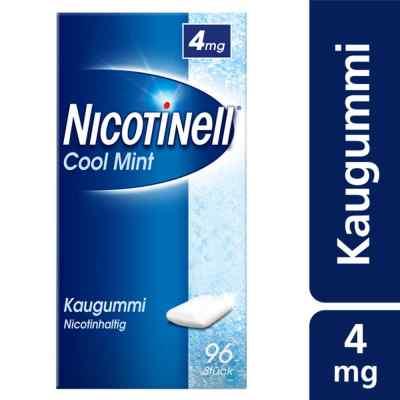 Nicotinell Kaugummi 4 mg Cool Mint (Minz-Geschmack)  bei apo-discounter.de bestellen