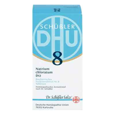 Biochemie Dhu 8 Natrium chlor. D12 Tabletten  bei apo-discounter.de bestellen