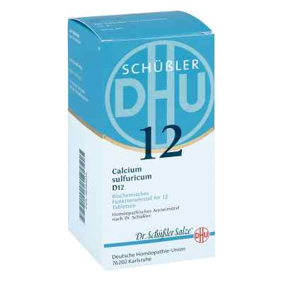Biochemie Dhu 12 Calcium Sulfur D  12 Tabletten  bei apo-discounter.de bestellen