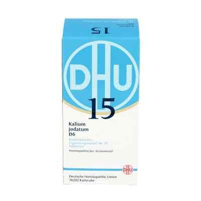 Biochemie Dhu 15 Kalium jodatum D 6 Tabletten  bei apo-discounter.de bestellen