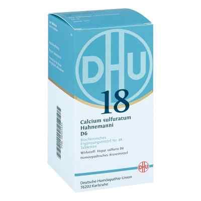 Biochemie Dhu 18 Calcium sulfuratum D 6 Tabletten  bei apo-discounter.de bestellen