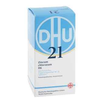 Biochemie Dhu 21 Zincum chloratum D 6 Tabletten  bei apo-discounter.de bestellen