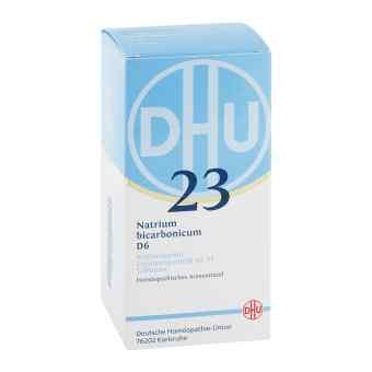 Biochemie Dhu 23 Natrium bicarbonicum D6 Tabletten  bei apo-discounter.de bestellen