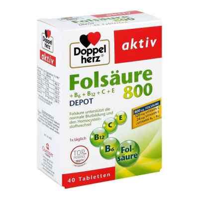 Doppelherz Folsäure 800 + B-vitamine Tabletten  bei apo-discounter.de bestellen