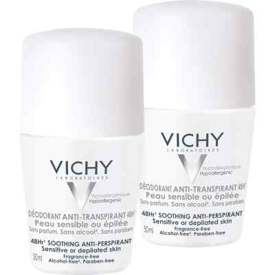 Vichy Deo Roll on Sensitiv Anti transparent 48h Doppelp.  bei apo-discounter.de bestellen