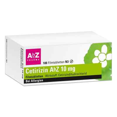Cetirizin AbZ 10mg  bei apo-discounter.de bestellen