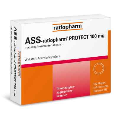 ASS-ratiopharm PROTECT 100mg