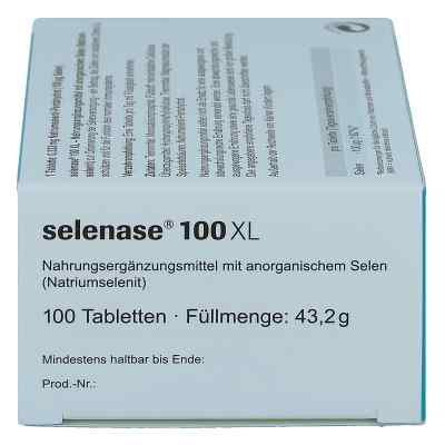 Selenase 100 Xl Tabletten  bei apo-discounter.de bestellen