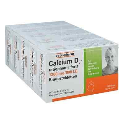 Calcium D3 ratiopharm forte Brausetabletten