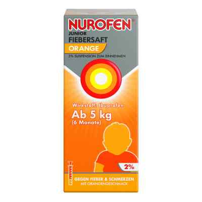 Nurofen Junior Fiebersaft Orange 2%  bei apo-discounter.de bestellen