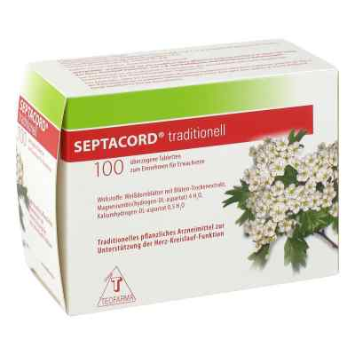 Septacord traditionell überzogene Tabletten