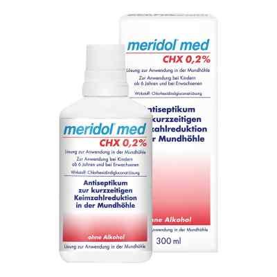 Meridol med CHX 0,2% Lösung zur Anwendung in der Mundhöhle