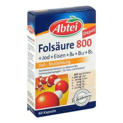 Abtei Folsäure 800 Kapseln