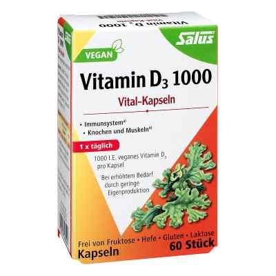 Vitamin D3 1000 vegan Vital-kapseln Salus
