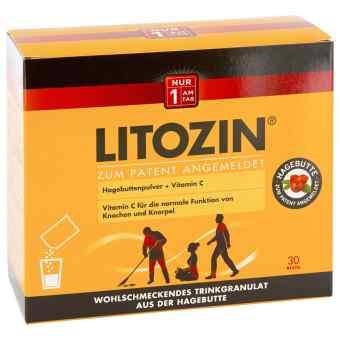 Litozin Hagebuttenpulver mit Trinkgranulat