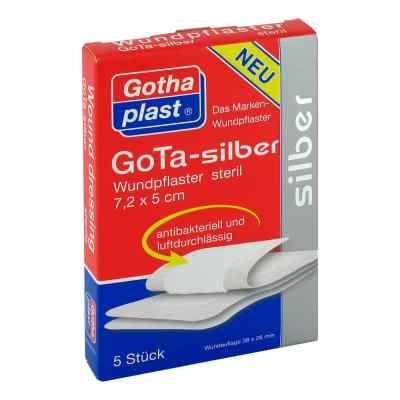 Gota Silber Wundpflaster 5x7,2 cm steril  bei apo-discounter.de bestellen