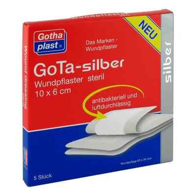 Gota Silber Wundpflaster 6x10 cm steril  bei apo-discounter.de bestellen