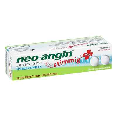 Neo Angin stimmig Plus Kirsche Lutschtabletten  bei apo-discounter.de bestellen
