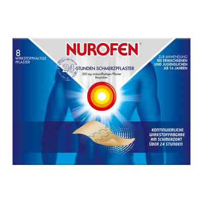 Nurofen 24-stunden Schmerzpflaster 200 mg  bei apo-discounter.de bestellen