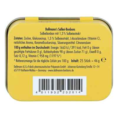 Dallmann's Salbeibonbons Dose  bei apo-discounter.de bestellen