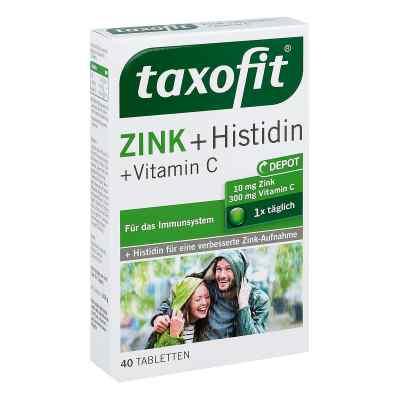 Taxofit Zink+histidin mit Vitamin C Tabletten  bei apo-discounter.de bestellen