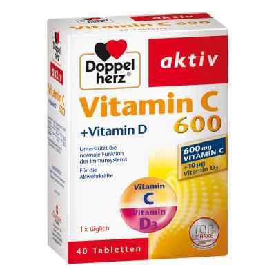 Doppelherz Vitamin C 600 + Vitamin D Tabletten  bei apo-discounter.de bestellen