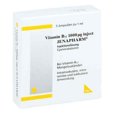 Vitamin B12 1000 [my]g Inject Jenapharm Ampullen