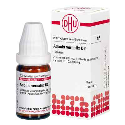 Adonis Vernalis D2 Tabletten  bei apo-discounter.de bestellen