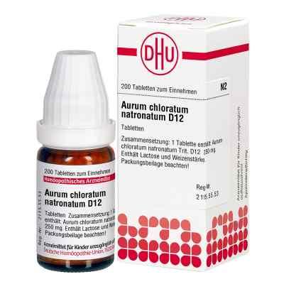 Aurum Chloratum Natronatum D12 Tabletten  bei apo-discounter.de bestellen