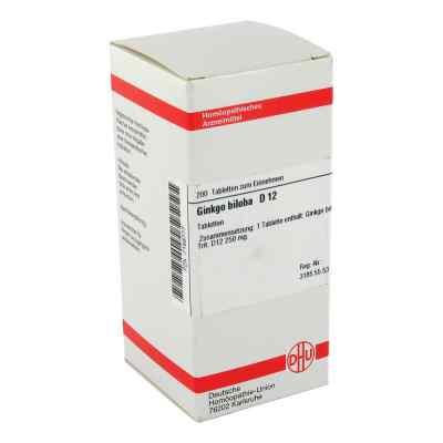 Ginkgo Biloba D12 Tabletten  bei apo-discounter.de bestellen