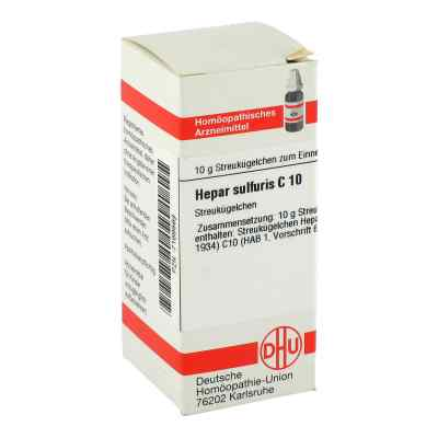 Hepar Sulfuris C 10 Globuli  bei apo-discounter.de bestellen