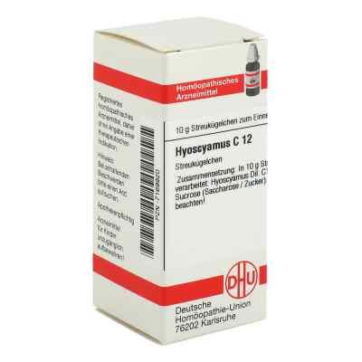 Hyoscyamus C 12 Globuli