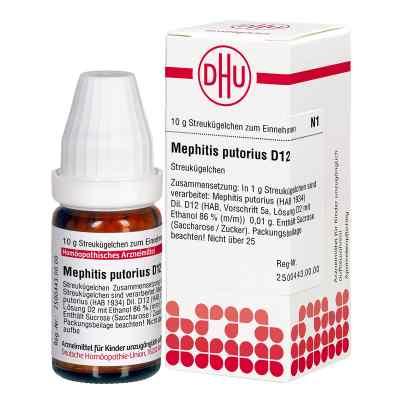 Mephitis Putorius D 12 Globuli  bei apo-discounter.de bestellen