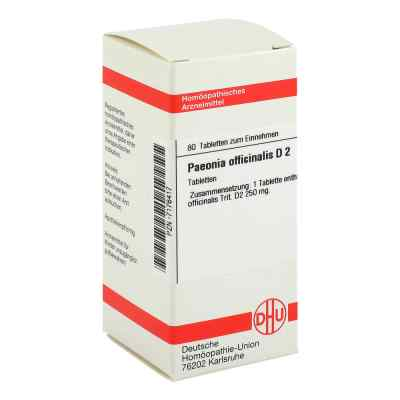 Paeonia Officin. D 2 Tabletten 07176417