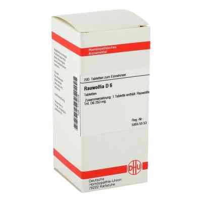 Rauwolfia D6 Tabletten  bei apo-discounter.de bestellen