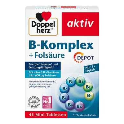 Doppelherz B-komplex + Folsäure Tabletten  bei apo-discounter.de bestellen