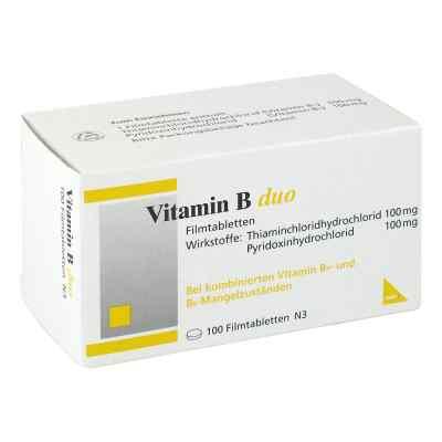 Vitamin B Duo Filmtabletten  bei apo-discounter.de bestellen